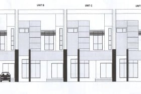 Proposed Corner & Intermediate Terrace Houses in Lambak