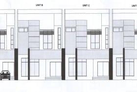 Proposed Corner & Intermediate Terrace Houses in Lambak